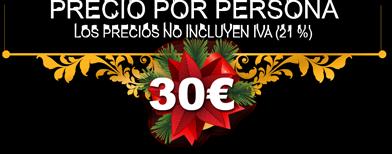 Precio 30€ por persona