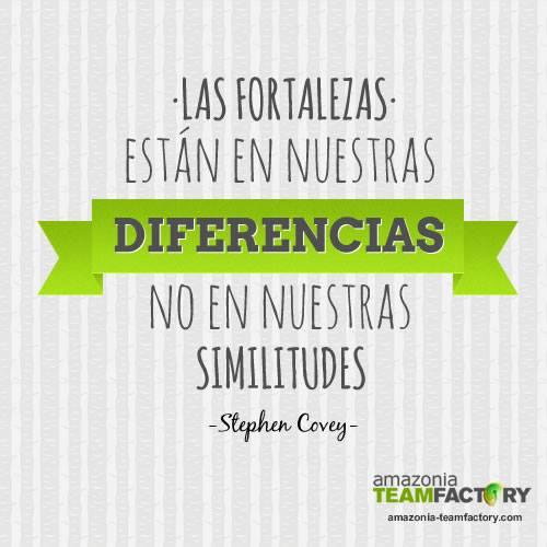 Las diferencias nos hacen más fuertes como equipo
