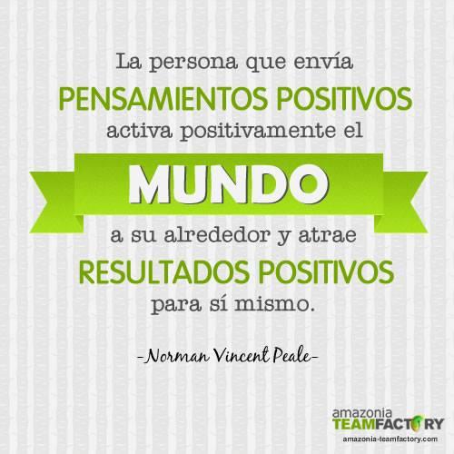 El pensamiento positivo trae resultados positivos