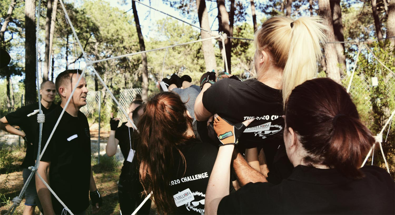 gymkanas, objetivos team building madrid