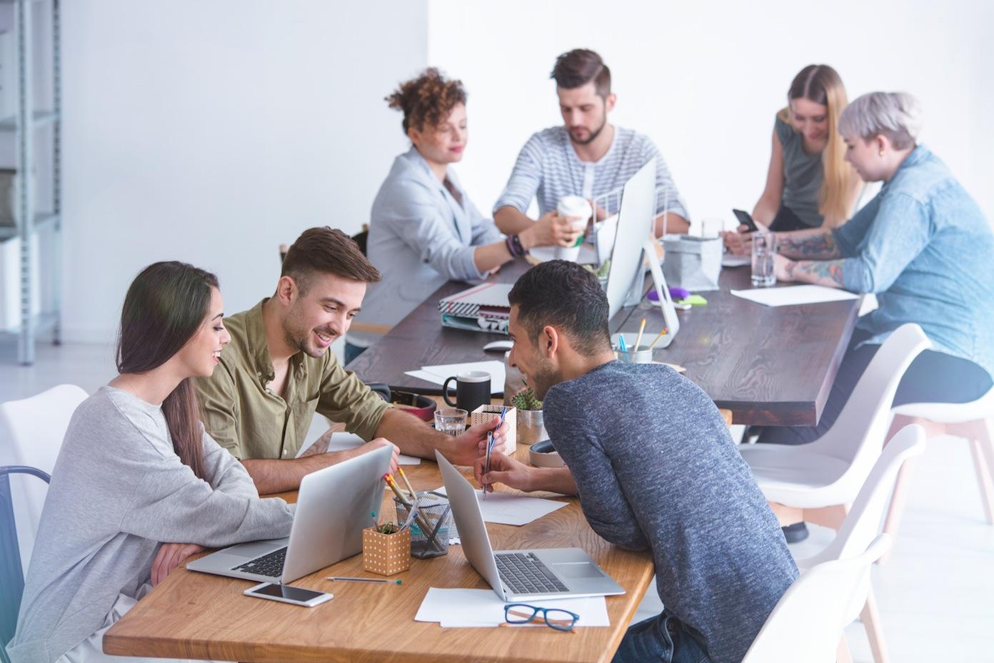 10 valores trabajo en equipo