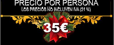 Precio 35€ por persona